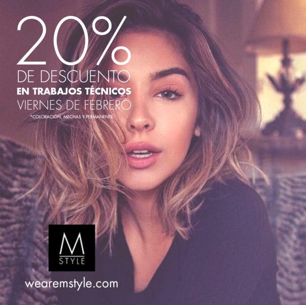 20% de descuento en trabajos técnicos en Minimal Style