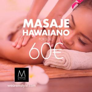Masaje Hawaiano Lomi-Lomi en Minimal Style