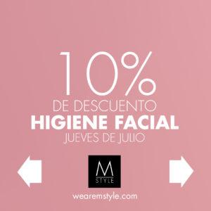 Oferta higiene facial Alcalá de Henares